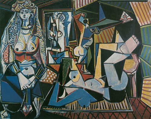 Picasso's version of the same painting, 1995