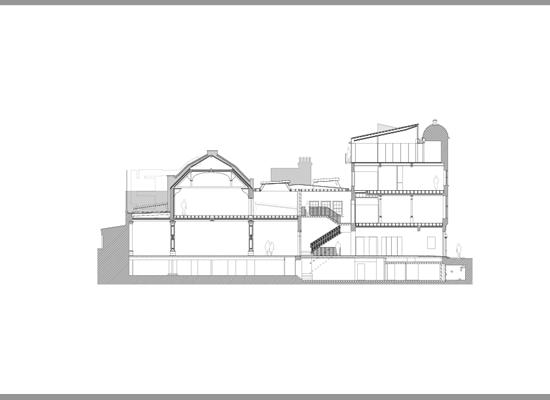 The new Whitechapel Gallery designed by Robbrecht& Daem